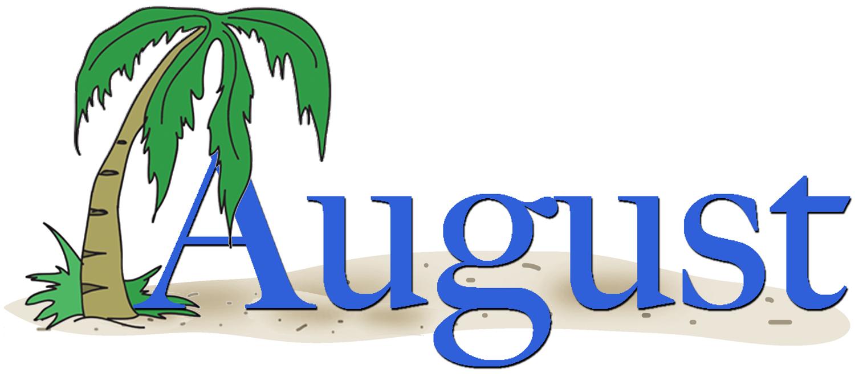 Clip art image clipartix. August clipart transparent