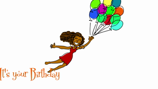 Birthday wishes cards ideal. Aunt clipart african american