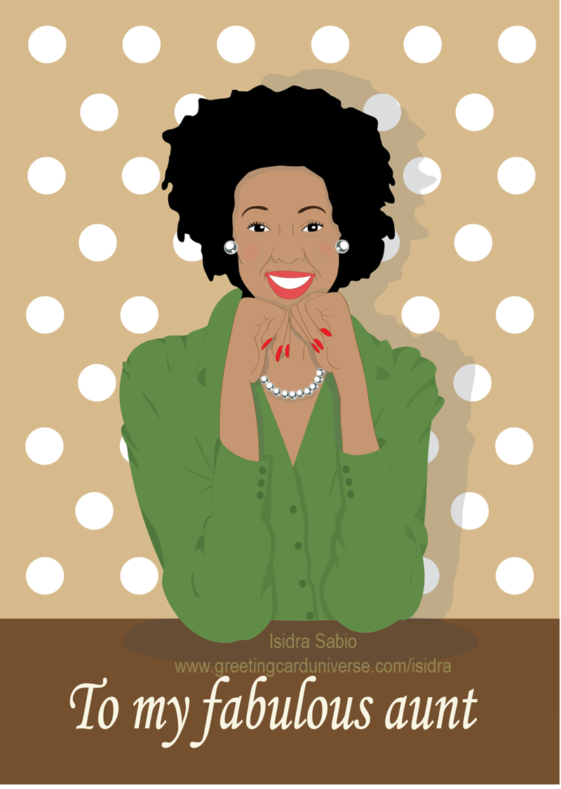 aunt clipart african american