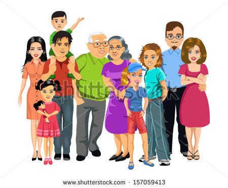 Aunt big family