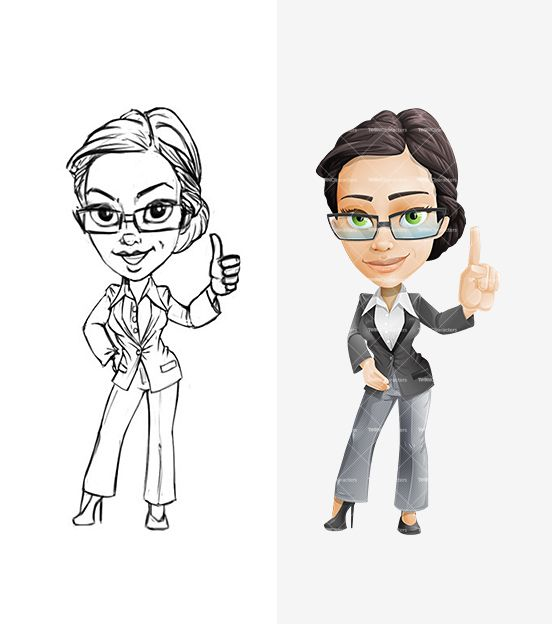 Free image on pixabay. Aunt clipart businesswoman