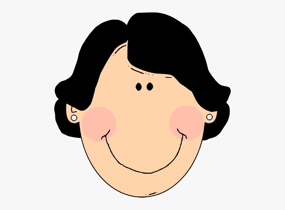 Latina woman clip art. Aunt clipart face