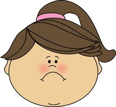Aunt clipart girl face. Clip art of very