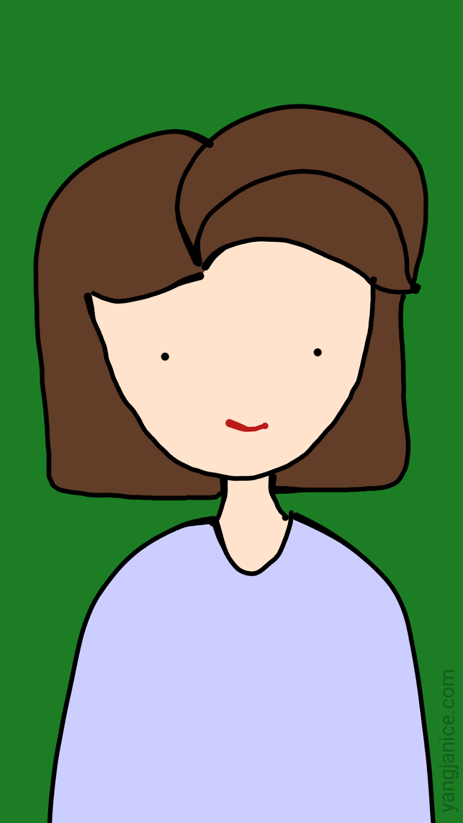 Yang janice my moms. Aunt clipart girl face