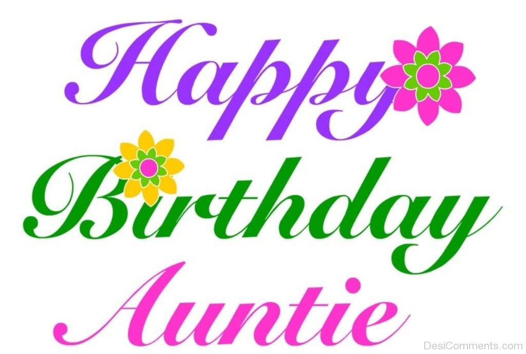 Aunt clipart happy birthday. Auntie desicomments com