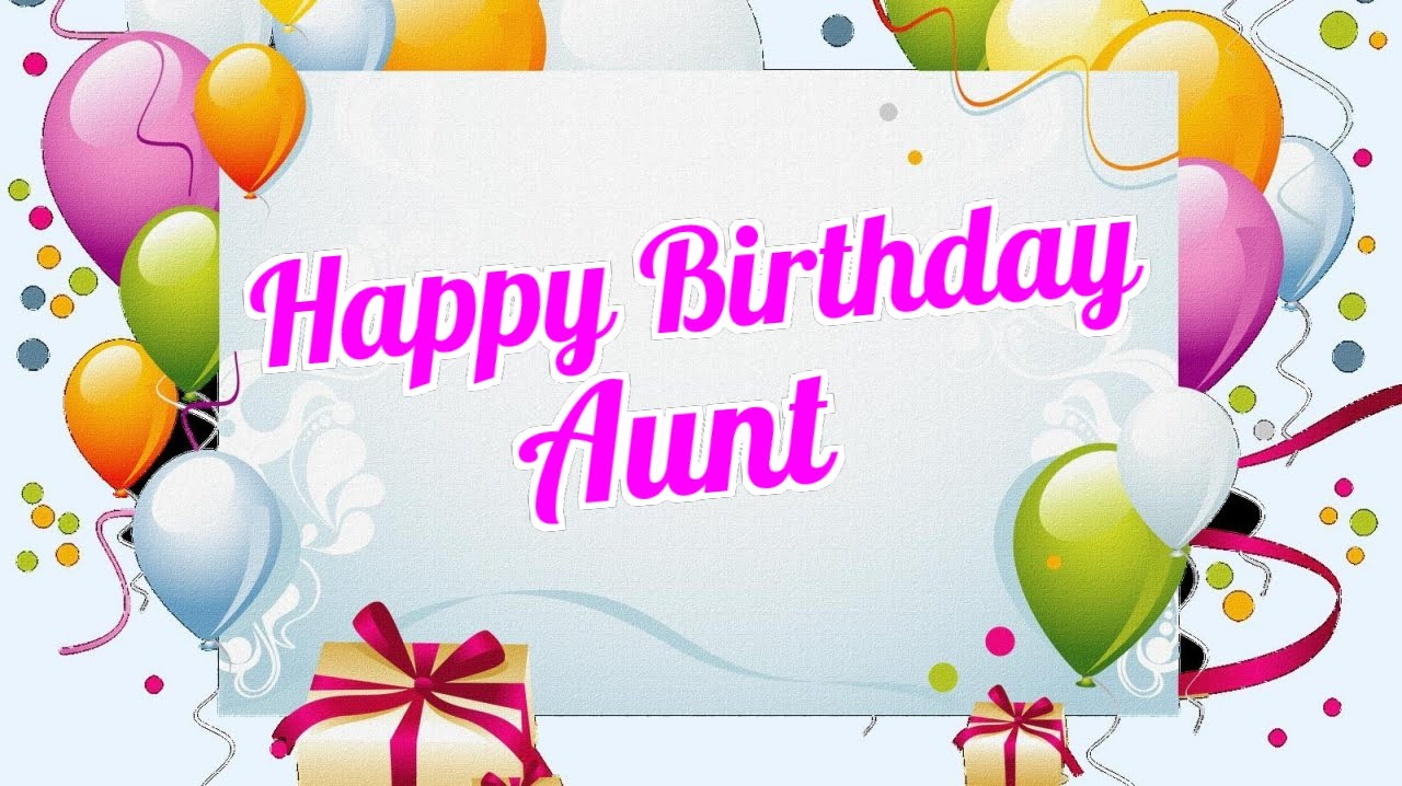 Aunt clipart happy birthday. Wishes sms and poems