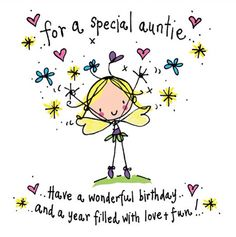 Aunt clipart happy birthday. To my beautiful and