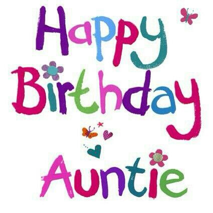 Aunt clipart happy birthday. Dollie to her aunties