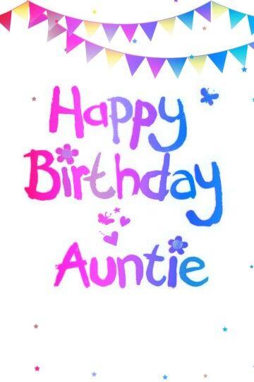 Aunt clipart happy birthday. Auntie pinterest