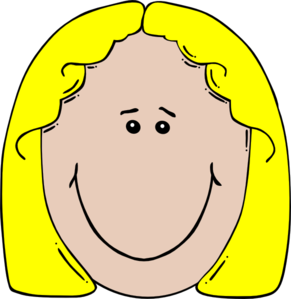 aunt clipart head