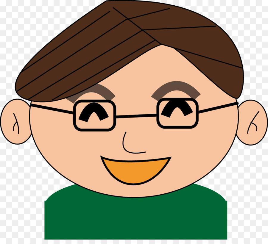 Family cartoon man nose. Aunt clipart head