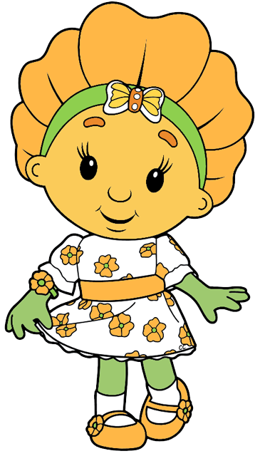 Aunt clipart head. Fifi and the flowertots