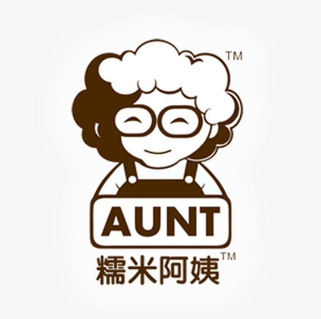 Aunt clipart head. Rice tea logo png