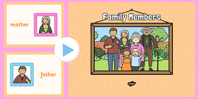 Aunt clipart individual family member. French members powerpoint visual