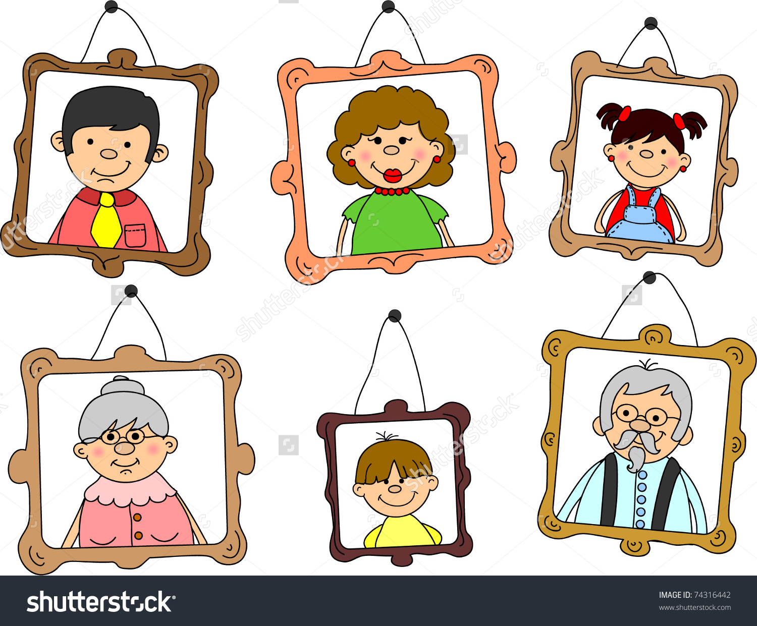 collection of free. Aunt clipart individual family member