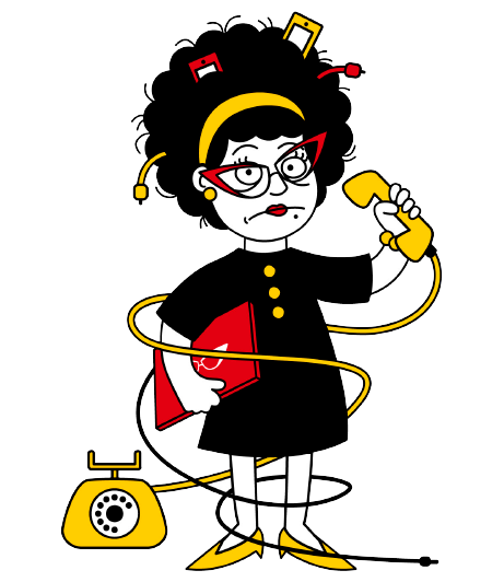Aunt clipart kind lady. Auntie with phone compressor