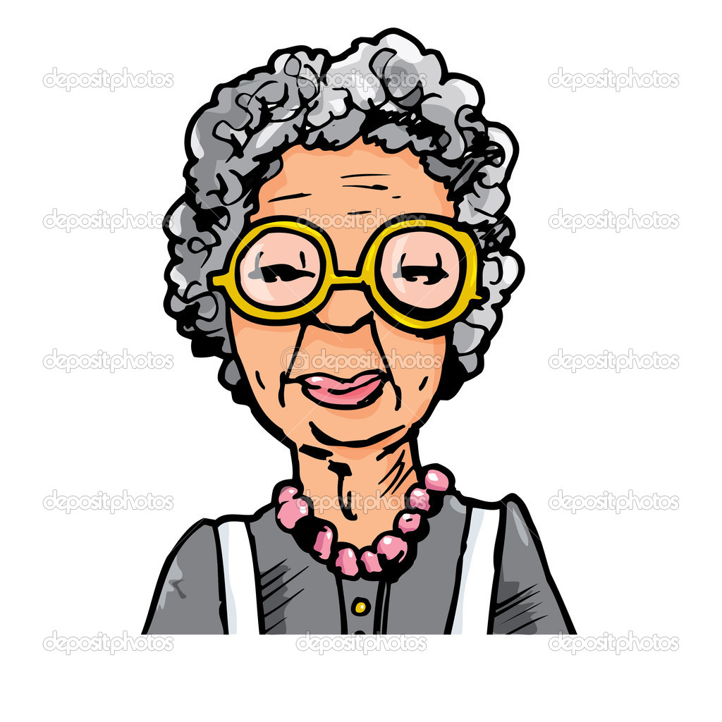 Aunt clipart ladies group. Cartoon old woman free