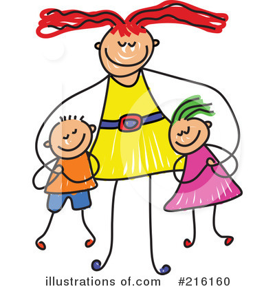 Mother illustration by prawny. Aunt clipart mom happy