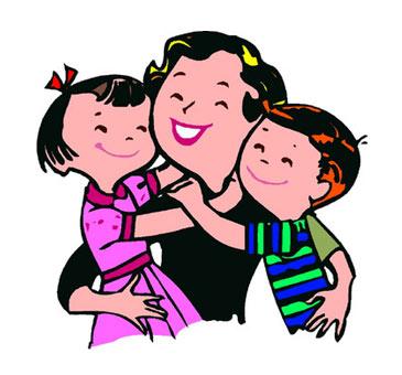 Children clipart mum. Easy way a blog