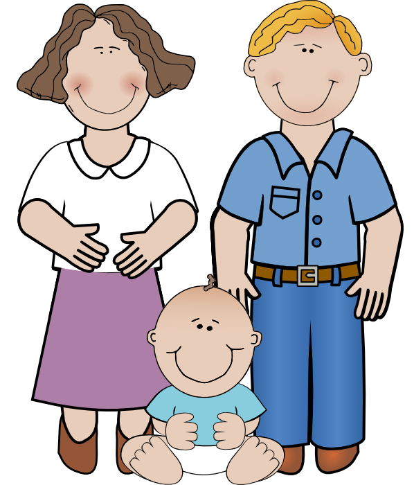 Free of pregnant women. Lady clipart aunt