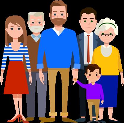 Aunt clipart parents group. Mindful co parenting helping
