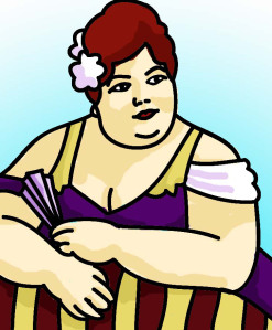 Ask fattie shapely prose. Aunt clipart professional woman