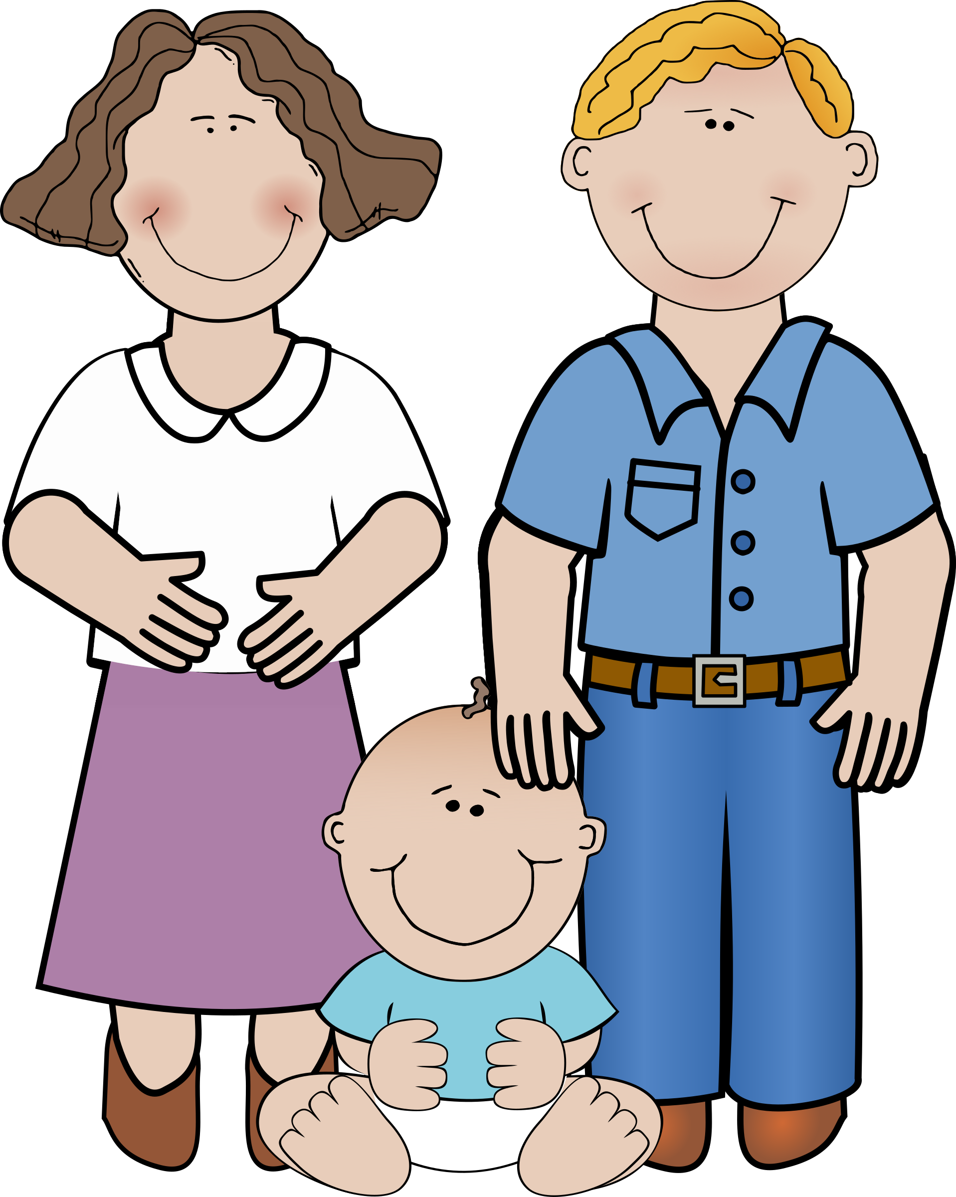 Families clipart boy. Family big image png