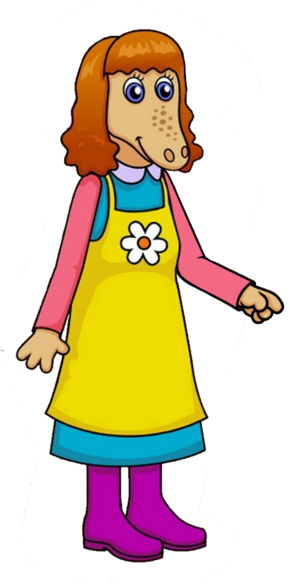 Aunt clipart standing. Martha uncle pete cartoon
