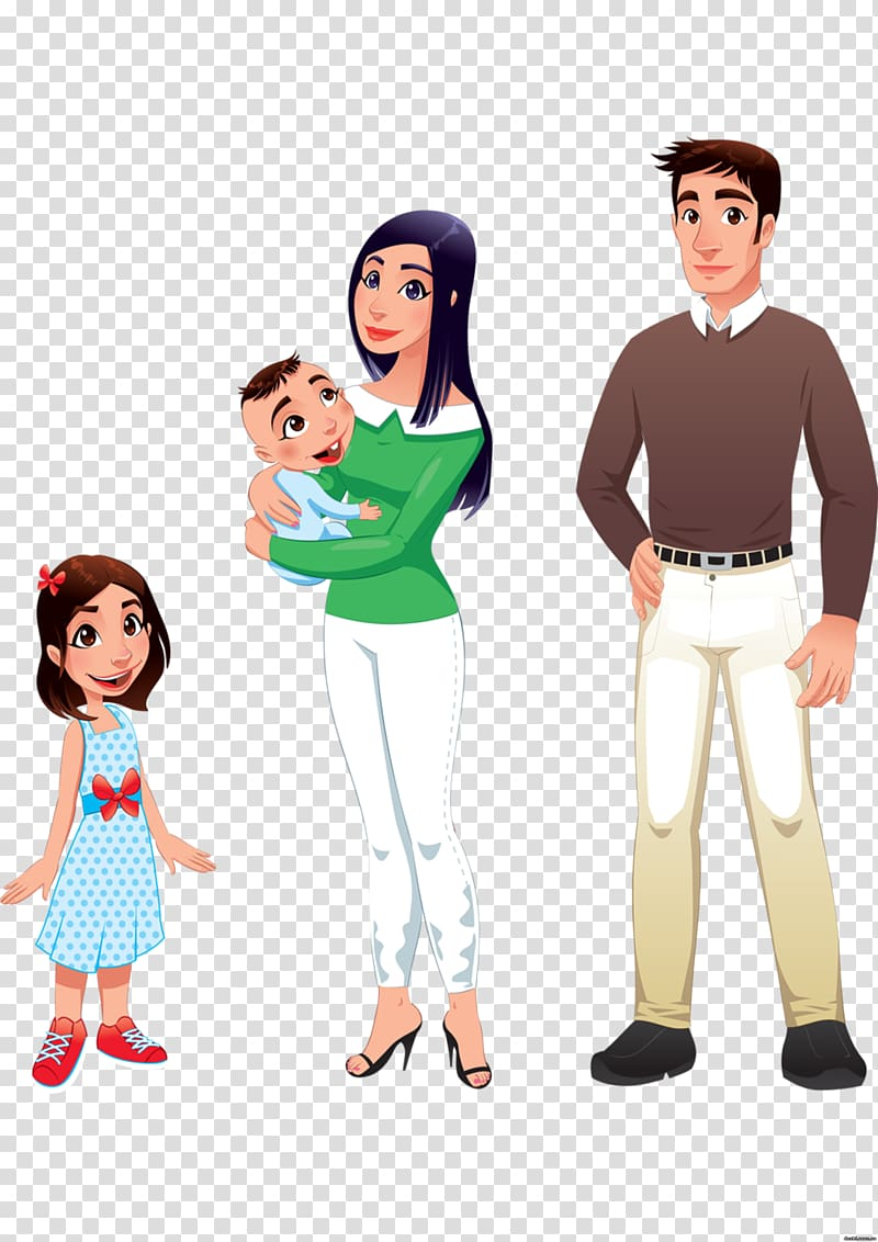 Uncle family fathers day. Aunt clipart standing
