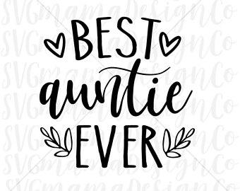 Black clipart aunt. Best svg etsy auntie