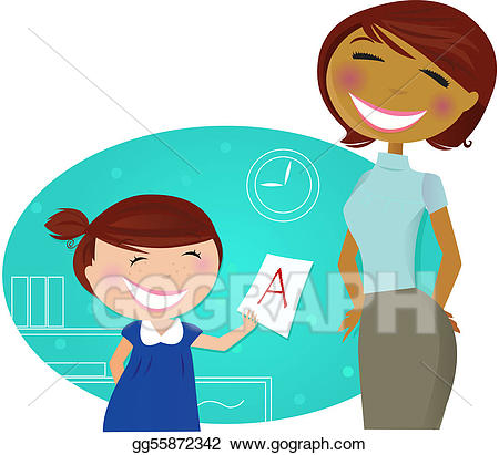 Vector art small cute. Aunt clipart teacher