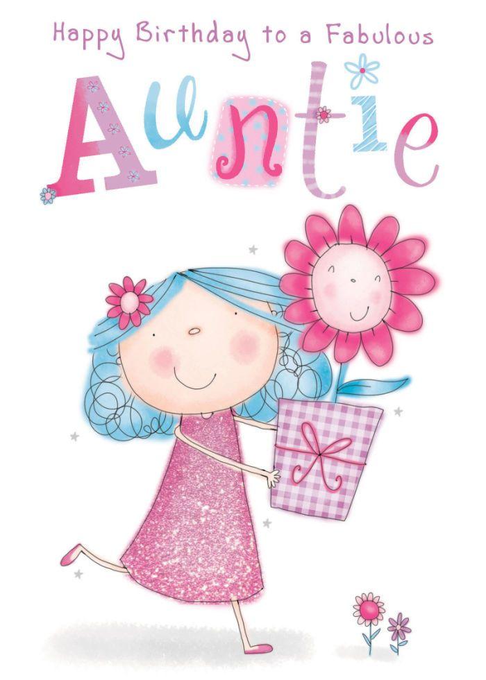 Helen poole auntie birthday. Aunt clipart tia