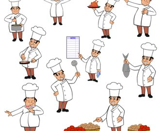 Mary chef clipartbaking clipartcharacter. Aunt clipart whole body