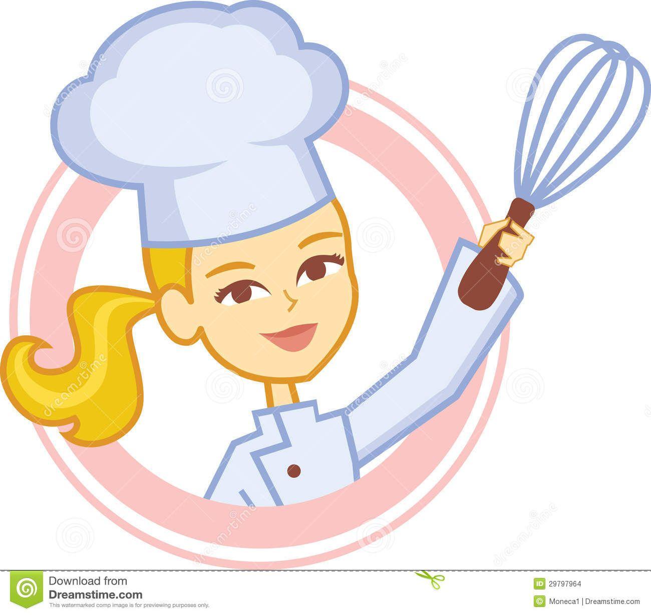 Girl google search ilustraci. Chef clipart