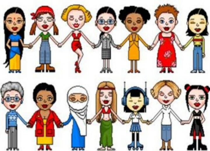 Aunt clipart women's group.  best women power