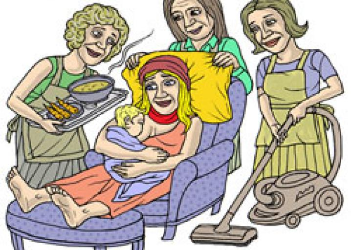 New mom traditions from. Aunt clipart women's group
