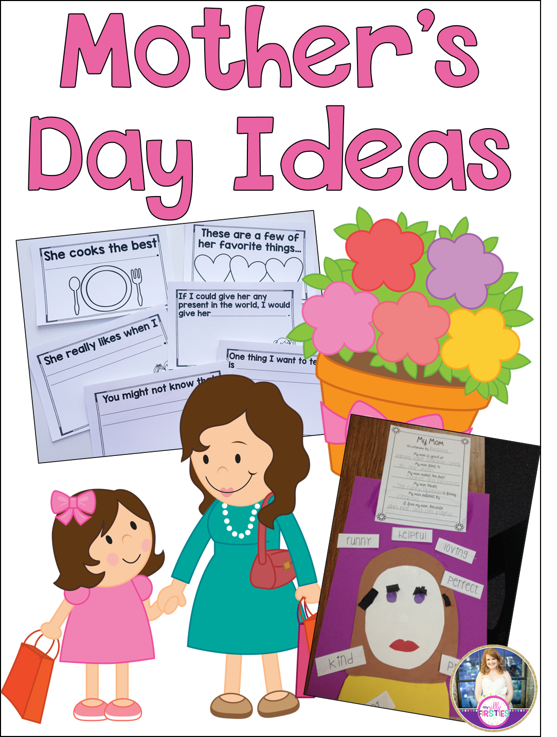 Aunt clipart working mom. Mother s day ideas