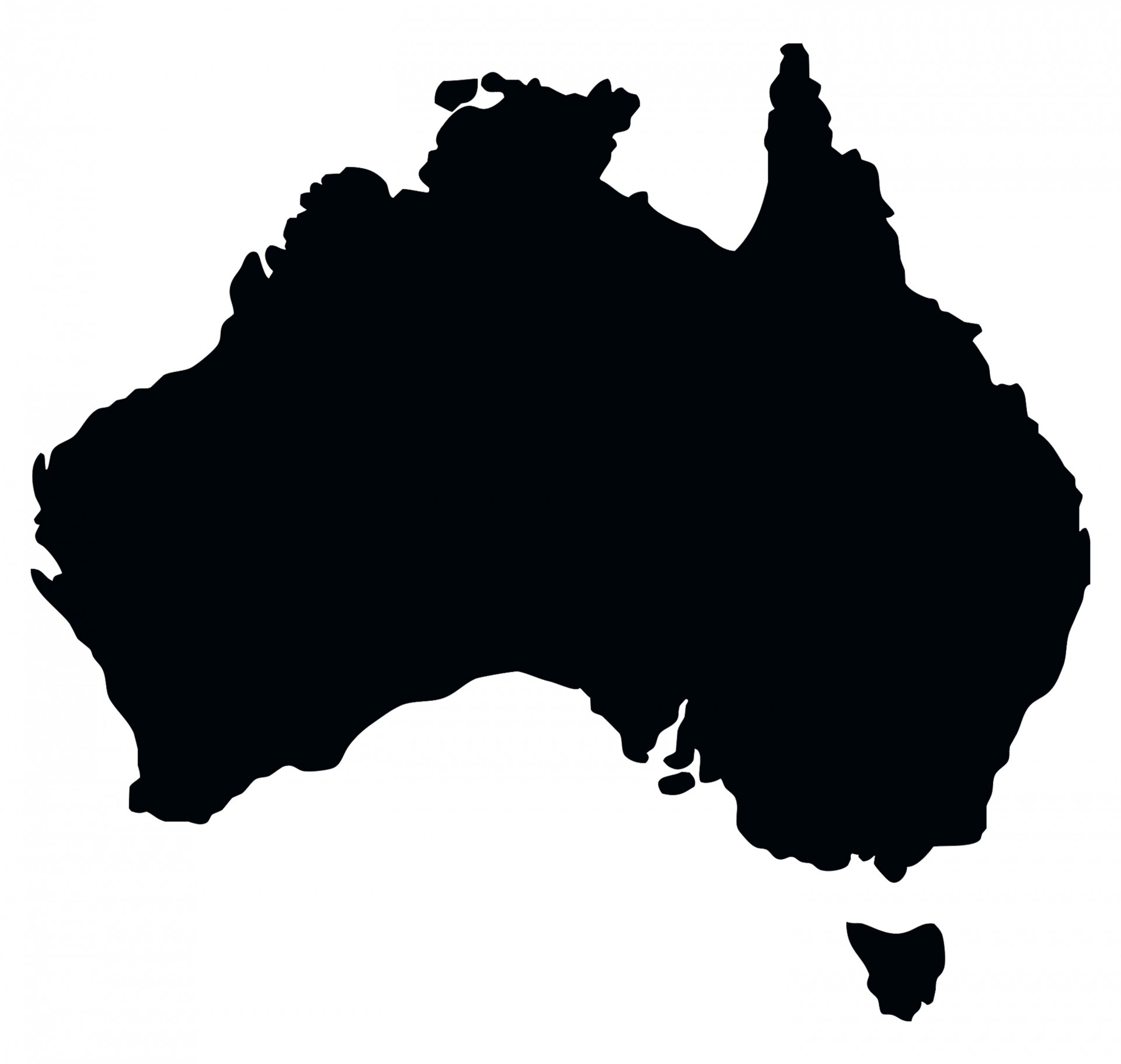 Map free stock photo. Australia clipart