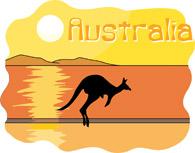 Australia clipart. Free clip art pictures