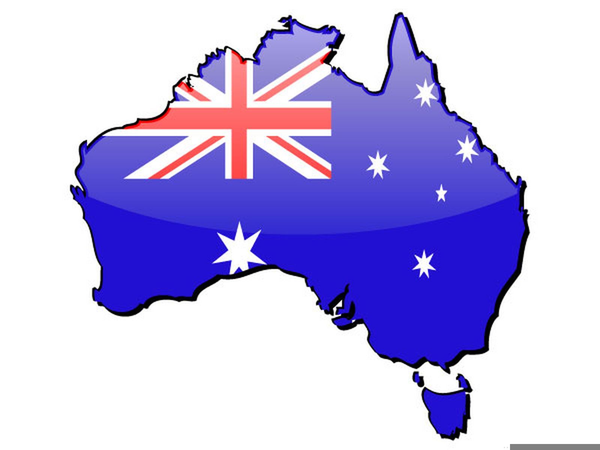 Western map free images. Australia clipart