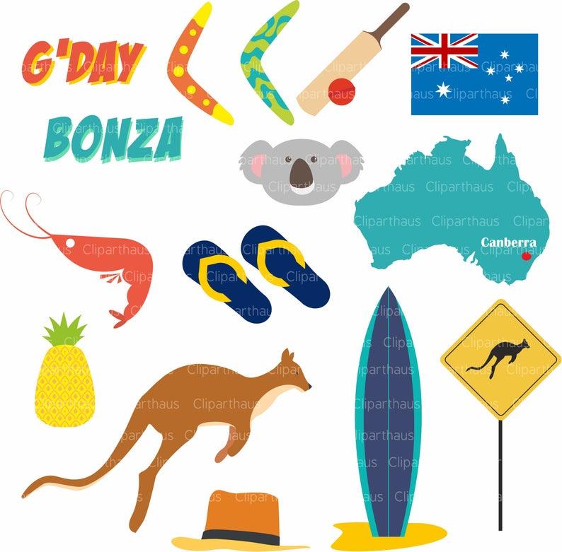 Australia clipart. Clip art vector svg