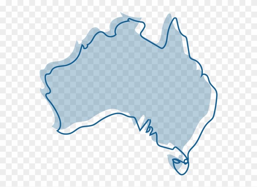 Australia clipart coloured. An illustration of a