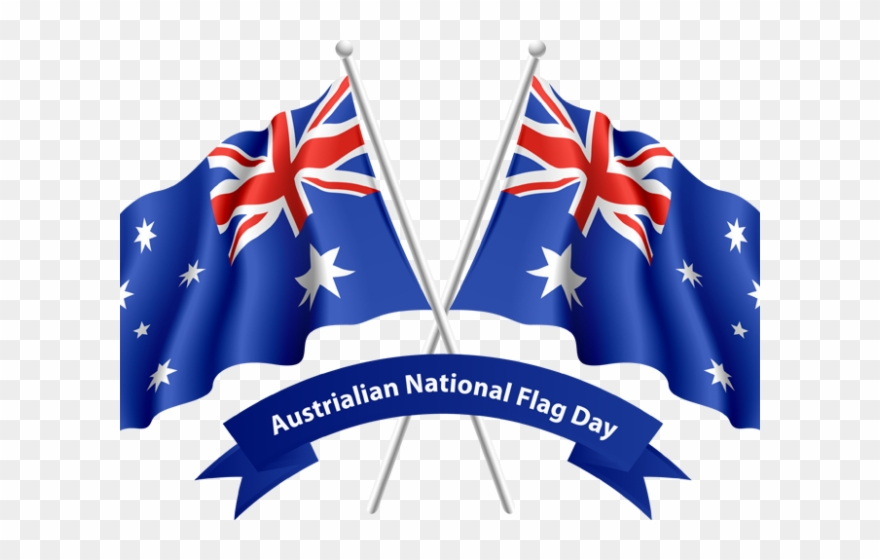 Word flag png download. Australia clipart day