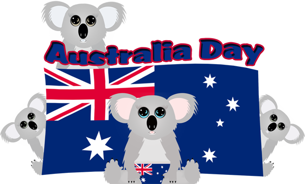 Umay graphics . Australia clipart day