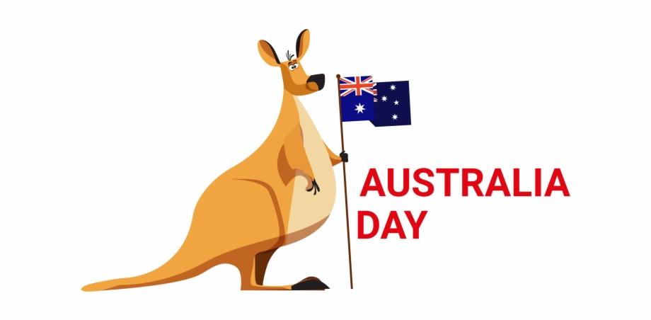 Kangaroo clip art free. Australia clipart day