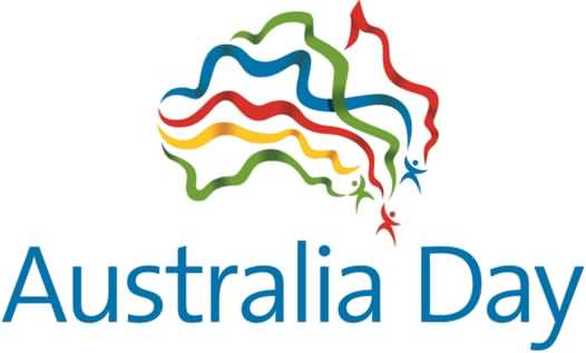 Australia clipart day. Ribbons