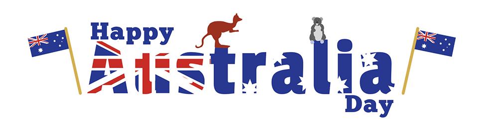 Australia clipart day. Happy