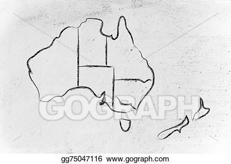 Australia clipart drawing. World map and continents