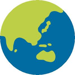 Emoji android globe asia. Australia clipart earth