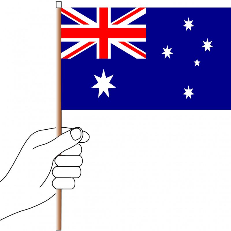 Flag Of Australia Clip Art - Australia Flag Png , Free Transparent Clipart  - ClipartKey